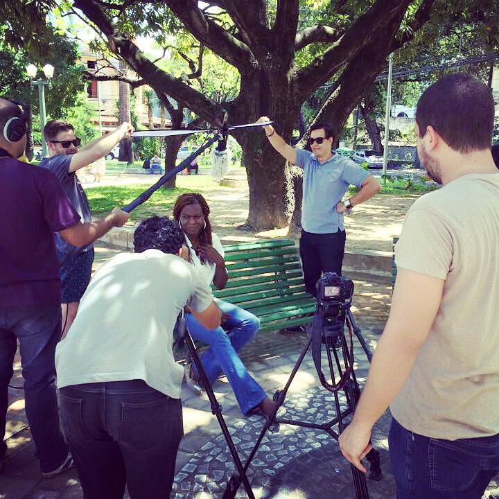 Being resourceful is a must during a TIE placement. For this short film, the team used members of the NGO as actors