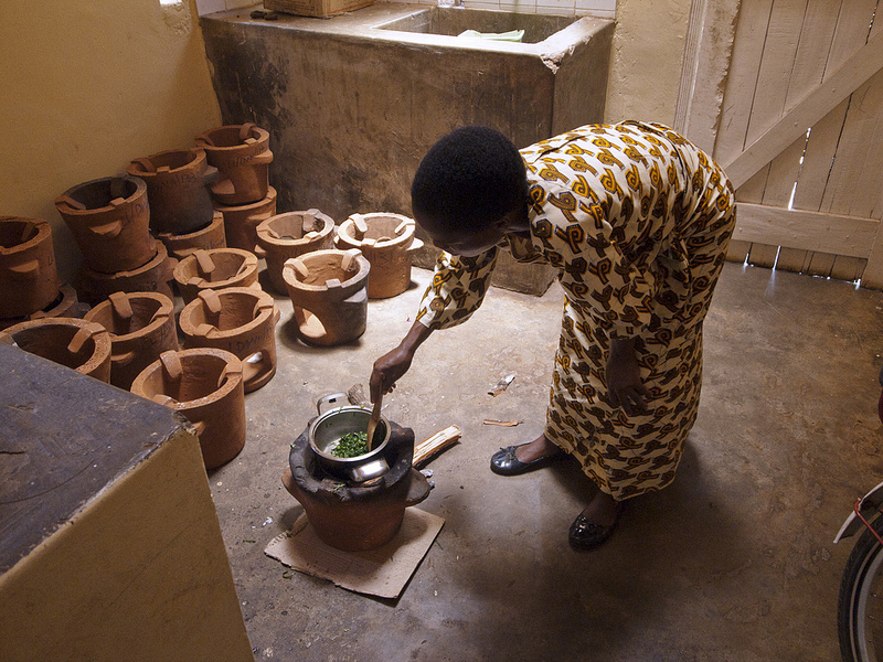 Many African countries don't have access to electricity. Most people rely on firewood for cooking and heating