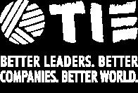 TIE. Better leaders. Better companies. Better world.